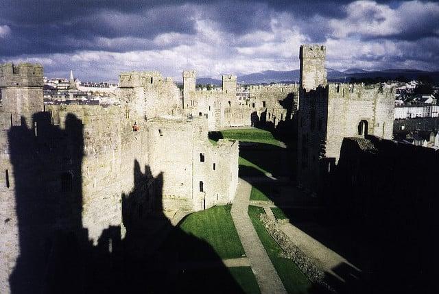 caenarfon castle - photo by  xisquare / Flickr