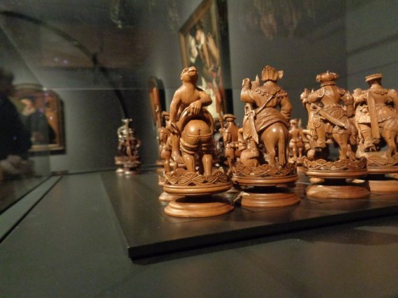chess set - - Photo by Danielle Trynoski