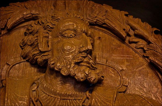 woodcarving at Stirling - Photo by Dun Deagh / Flickr