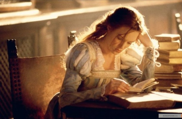 Veronica Franco studying to become a courtesan.