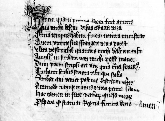 British Library, Add. MS 59495, fol. 39v. - image from the International John Gower Society
