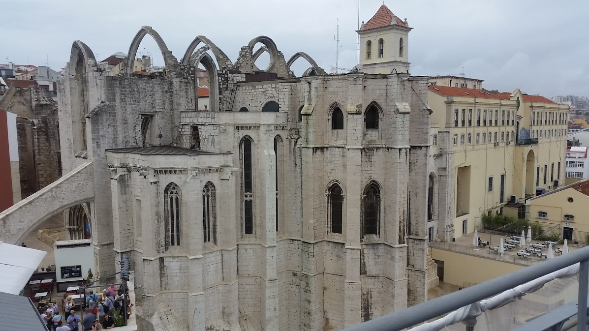 Ancient Carmo Convent and Church bear poignant witness to Lisbon's ...