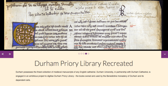 Durham Priory Library Recreated project