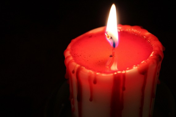 Samhain Candle - photo by Alison Leigh Lilly / Flickr