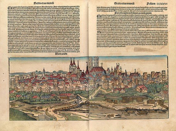 Page from the Nuremberg Chronicle