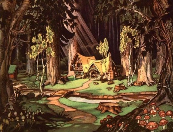 Dwarves' cottage from Snow White and the Seven Dwarves