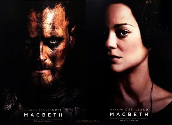 Macbeth movie poster - UK (2015)