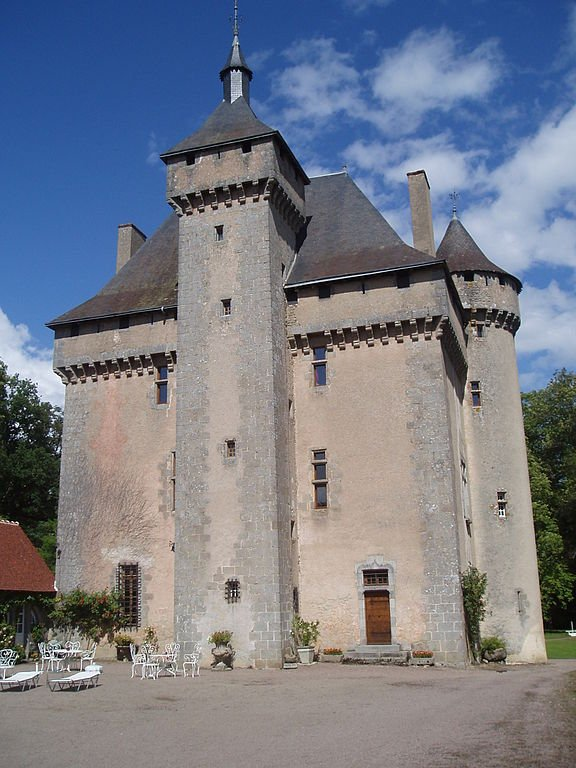 Château de la Chezotte - photo by  Aubussonais / Wikicommons