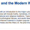 New Online Course: The Middle Ages and the Modern World: Facts and Fiction