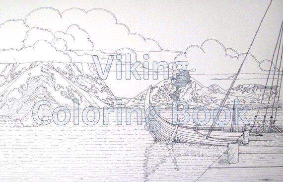 The Viking Coloring Book - Kickstarter project gets funding ...