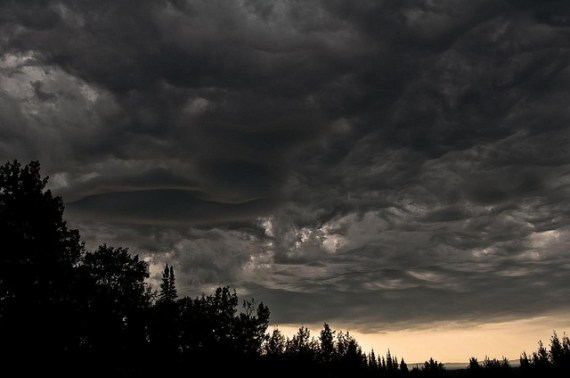 Thunder Storm Clouds - photo by Per / Flickr