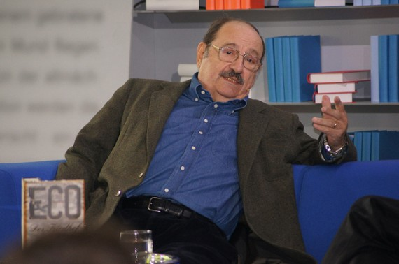 Umberto Eco in 2011 - Photo credit: Das Blaue Sofa / Club Bertelsmann.