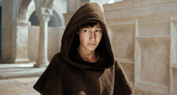 Joan as a monk in Fulda Monastery. (PopeJoantheBook.wordpress.com)
