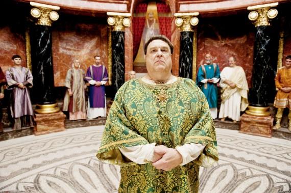 John Goodman as Pope Sergius II in Pope Joan. (www.acesshowbiz.com)