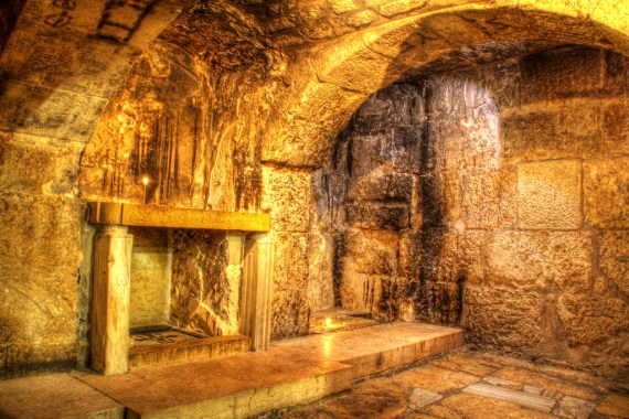 Prison of Christ in the Church of the Holy Sepulchre - photo by Patrick McKay / Flickr