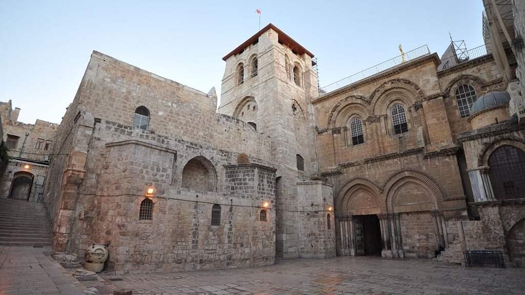 Church of the Holy Sepulchre, Jerusalem. (Wikipedia)