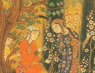 Hafiz Poems - Medieval Islamic Manuscript (Public Domain)
