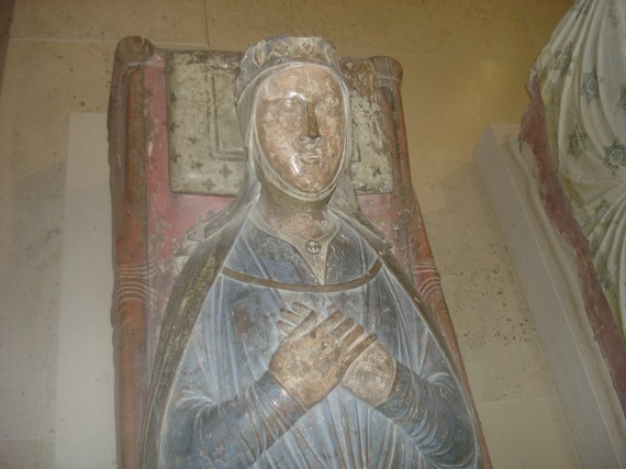 Isabella of Angoulême's Tomb Effigy, Fontevraud Abbey