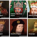 Can You Match the Medieval King to Their Cause of Death?