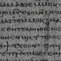 Early medieval writings of the First Apocalypse of James discovered