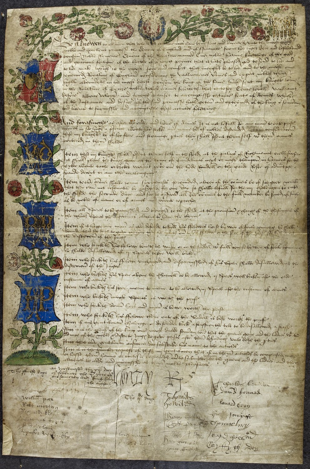 A Grand Gesture: Henry VIII and the Westminster Tournament