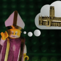 The Story of Durham Cathedral in LEGO