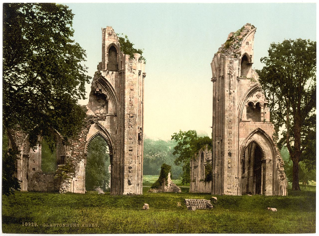 The Discovery of King Arthur and Guinevere at Glastonbury Abbey