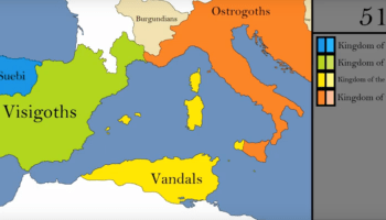 How The Borders Of Europe Changed During The Middle Ages