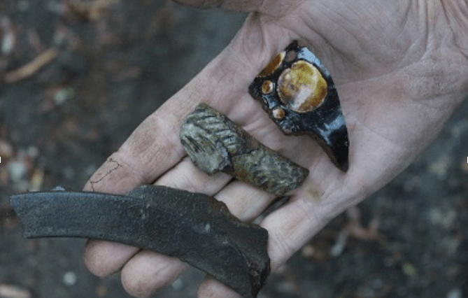 Medieval finds at English monastic site