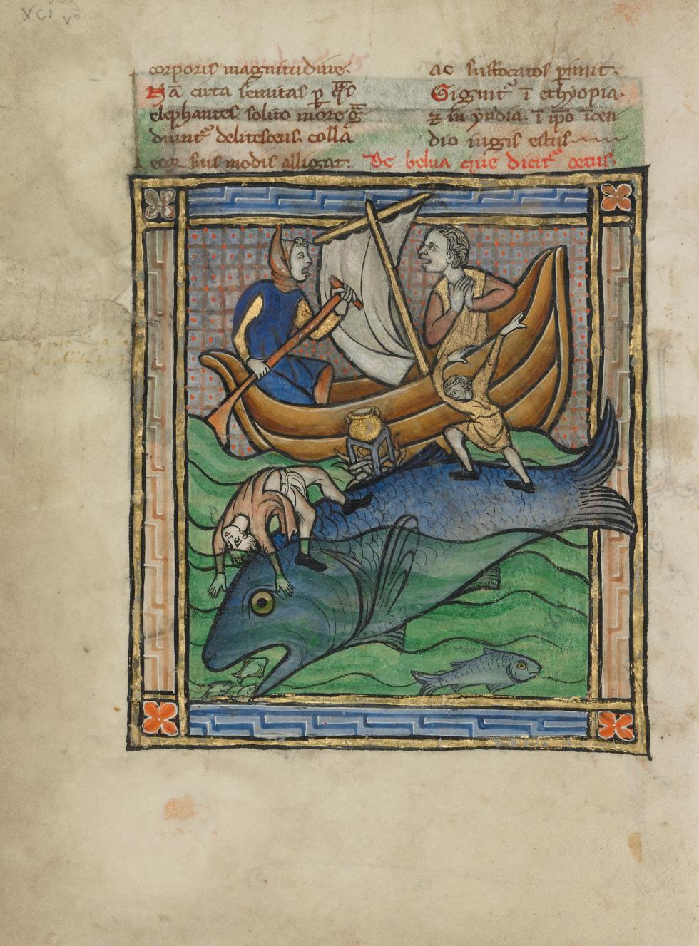 Fantastic Beasts - Find them at the Getty - Medievalists.net