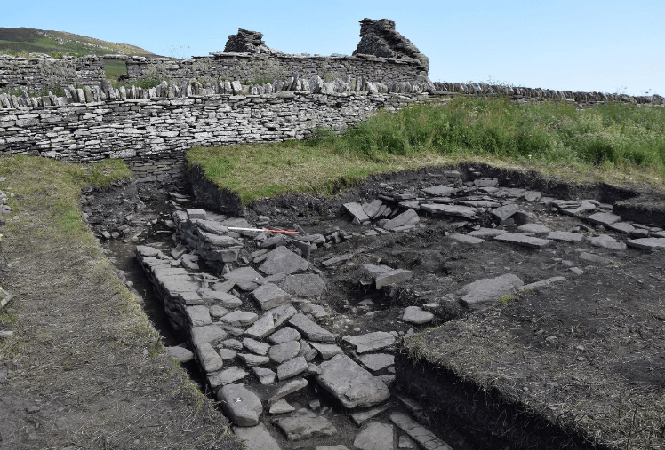 Norse Hall discovered in Orkney
