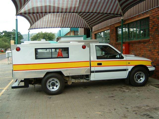 Underground Mine Ambulance