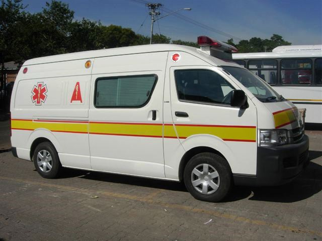 Medifit Quantum ambulance Zambia
