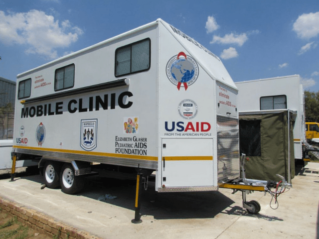 Mobile Clinic Trailer