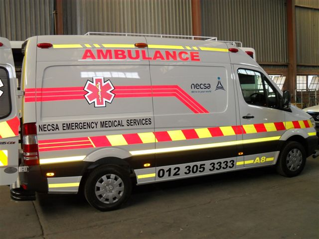 Click on Image for more about our Ambulances