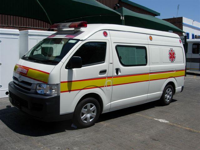 Toyota Quantum Ambulance