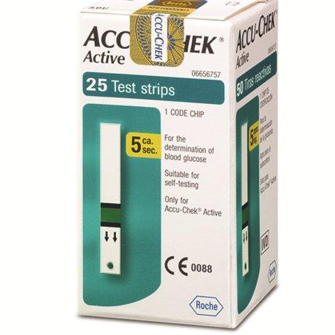 Accu check Active 25_strips