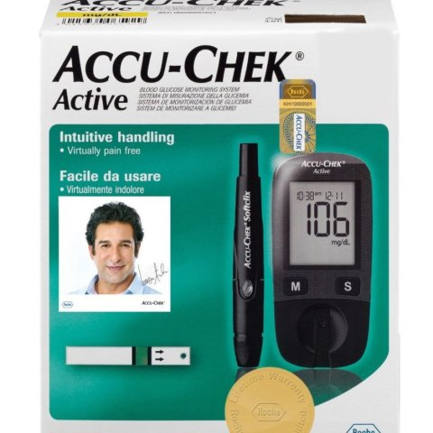 Accu Check Active blood glucose meter