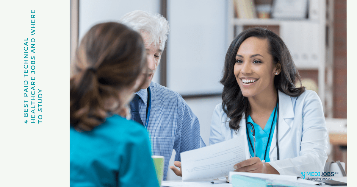 4 Best paid Technical Healthcare Jobs and Where to Study