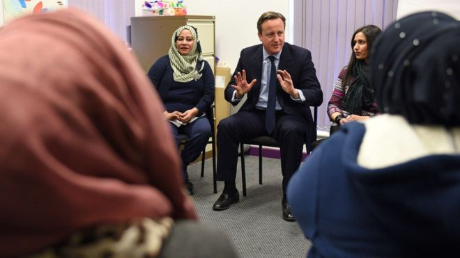 David Cameron Muslim Women
