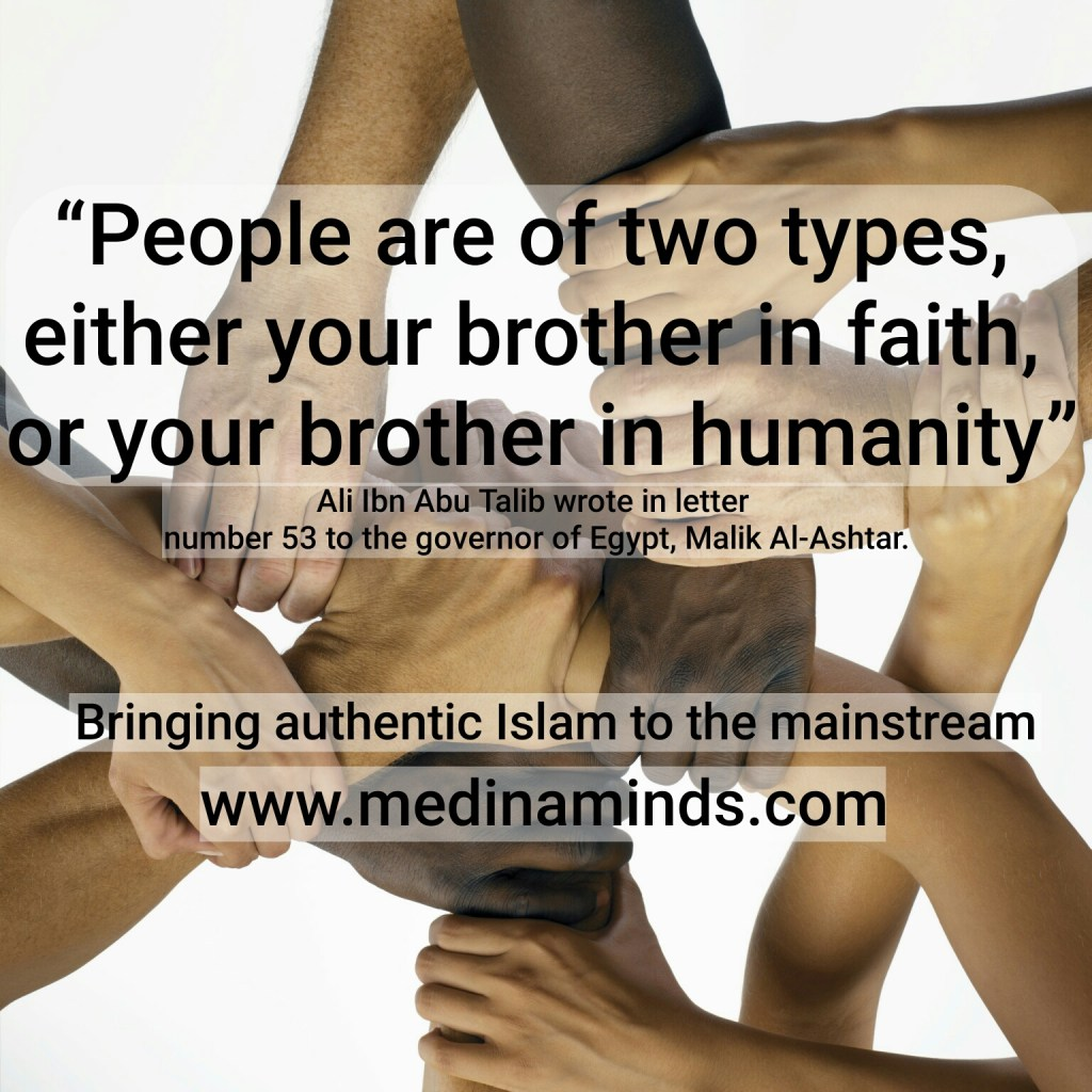 People are of two types – Ali Ibn Abu Talib