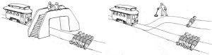 trolley problem Islam