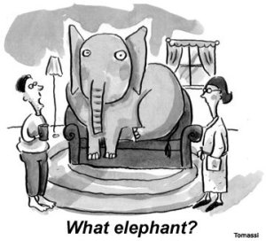 Ideological Elephant in the room