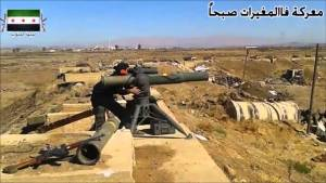 Syrian rebels using us weapons