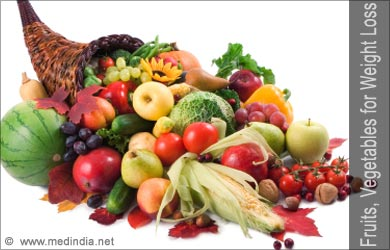 Fruits, Vegetables for Healthy Weight Loss