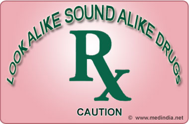 Look Alike Sound Alike Drugs