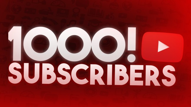 1000 subscribers YouTube channel Mediocre monday