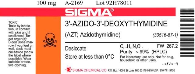 hiv aids hoax fraud Azt label