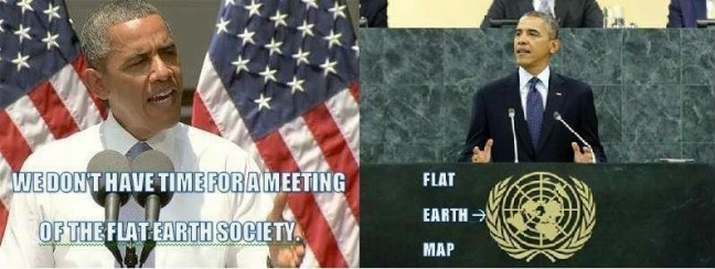 we dont have time for a meeting of the flat earth society