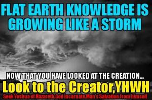 Flat earth memes YHWH creator